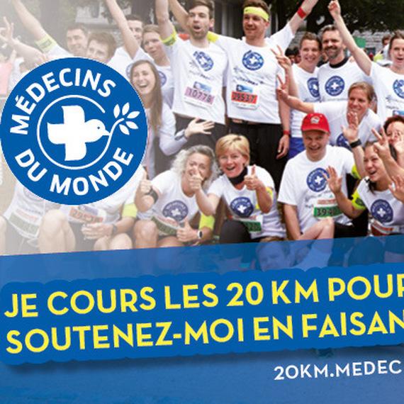 20km pour médecins du monde