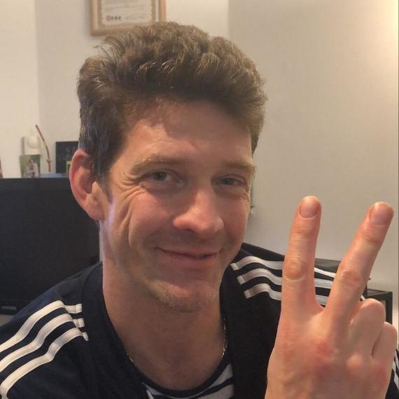 Samuël runs for Artsen vd Wereld - Médecins du monde